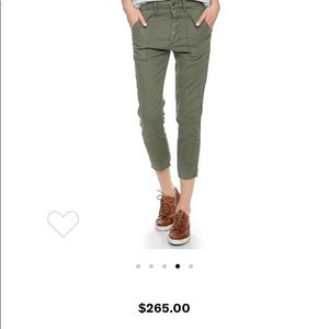 THE GREAT. The Army Slouch pant